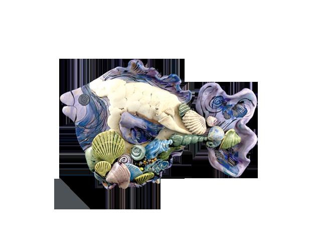 Clay Born Pottery - Small Fish