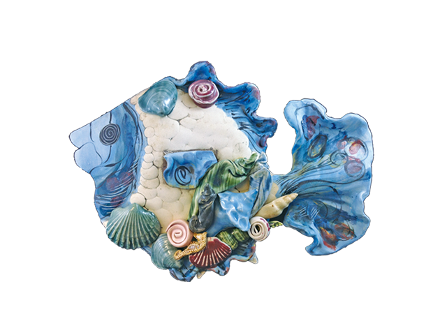 Clay Born Pottery - Medium Fish