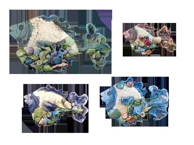 Clay Born Pottery - Fish