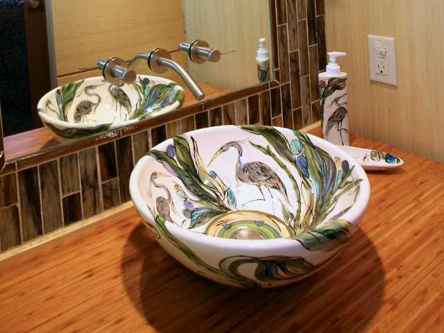 Clay Born Pottery - Custom Sink