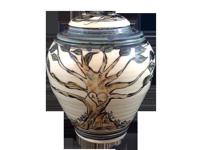 Clay Born Pottery - Custom Happy Jar